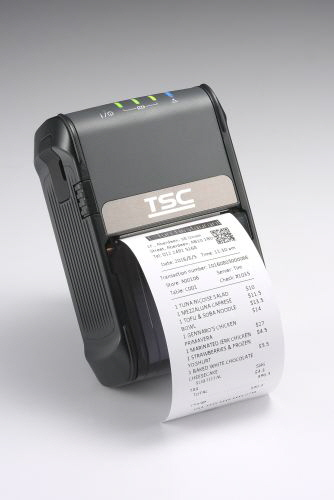 Labelcode - TSC Alpha-2R mit Label